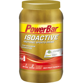 PowerBar Isoactive - Nutrición deportiva - Red Fruit Punch 1320g